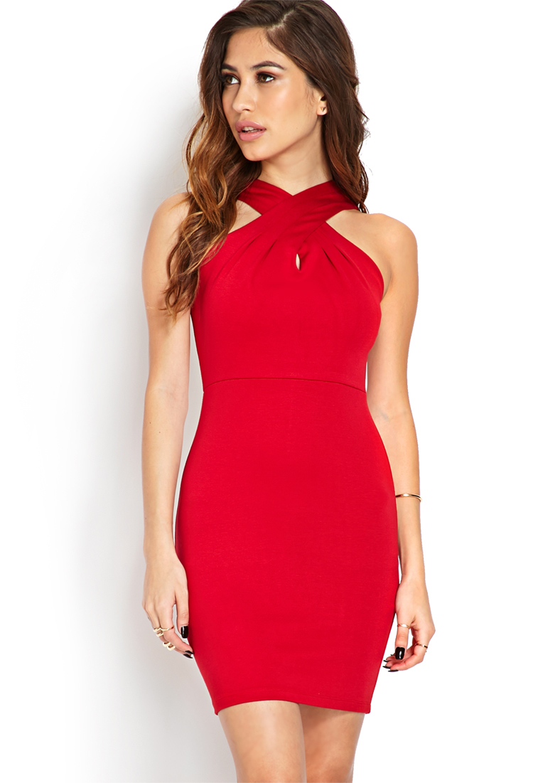 Form Fitting Dress Forever 21
