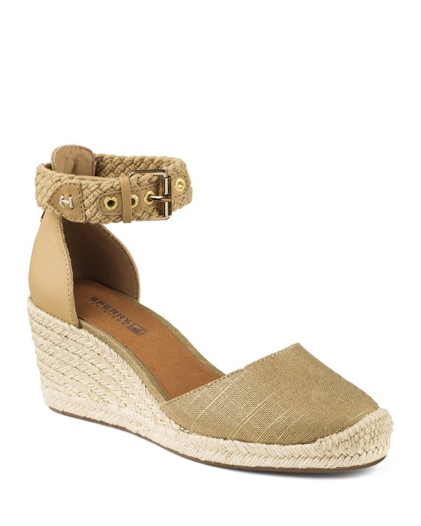 Sperry topsider Espadrille Wedge Sandals Valencia