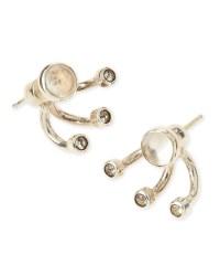 Lyst - Pamela Love Triple Gravitation Stud Earrings in ...