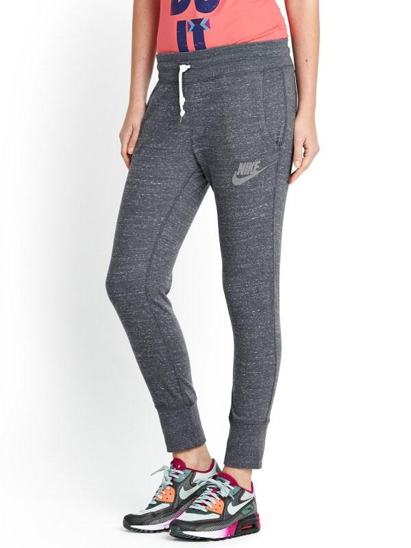 Nike Gym Vintage Capri Pants In Gray Grey Lyst