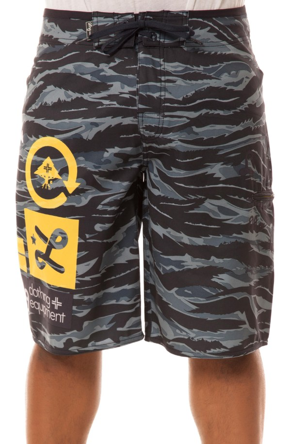 Lrg Core Collection Jungle Boardshorts In Blue Men