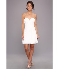 Faviana Short Strapless Sweetheart Dress 7075a in White ...