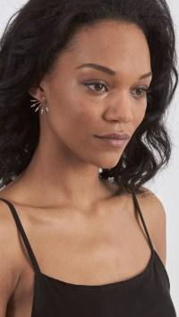 Pamela love 5 Spike Stud Earrings in Metallic | Lyst