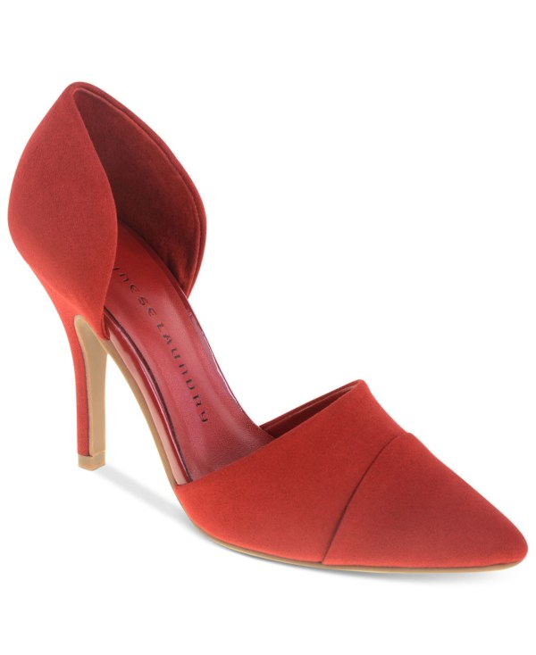 Chinese Laundry Sidekick 'orsay Pumps In Red - Lyst