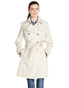Via spiga also lyst double breasted trench coat with belt in natural rh