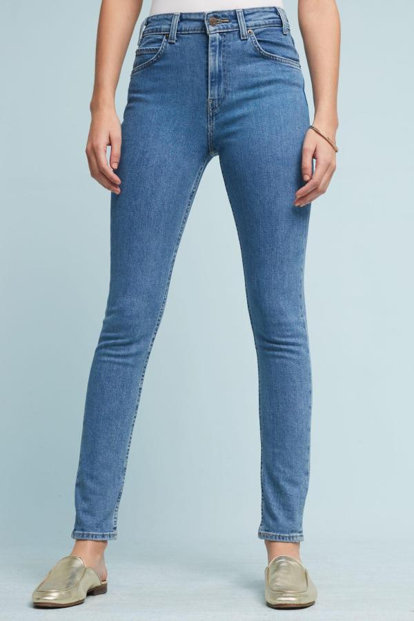 Levi' 721 High-rise Skinny Jeans In Blue Lyst