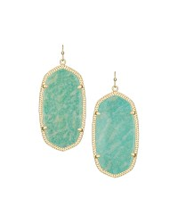 Lyst - Kendra Scott Danielle Statement Drop Earrings in Green