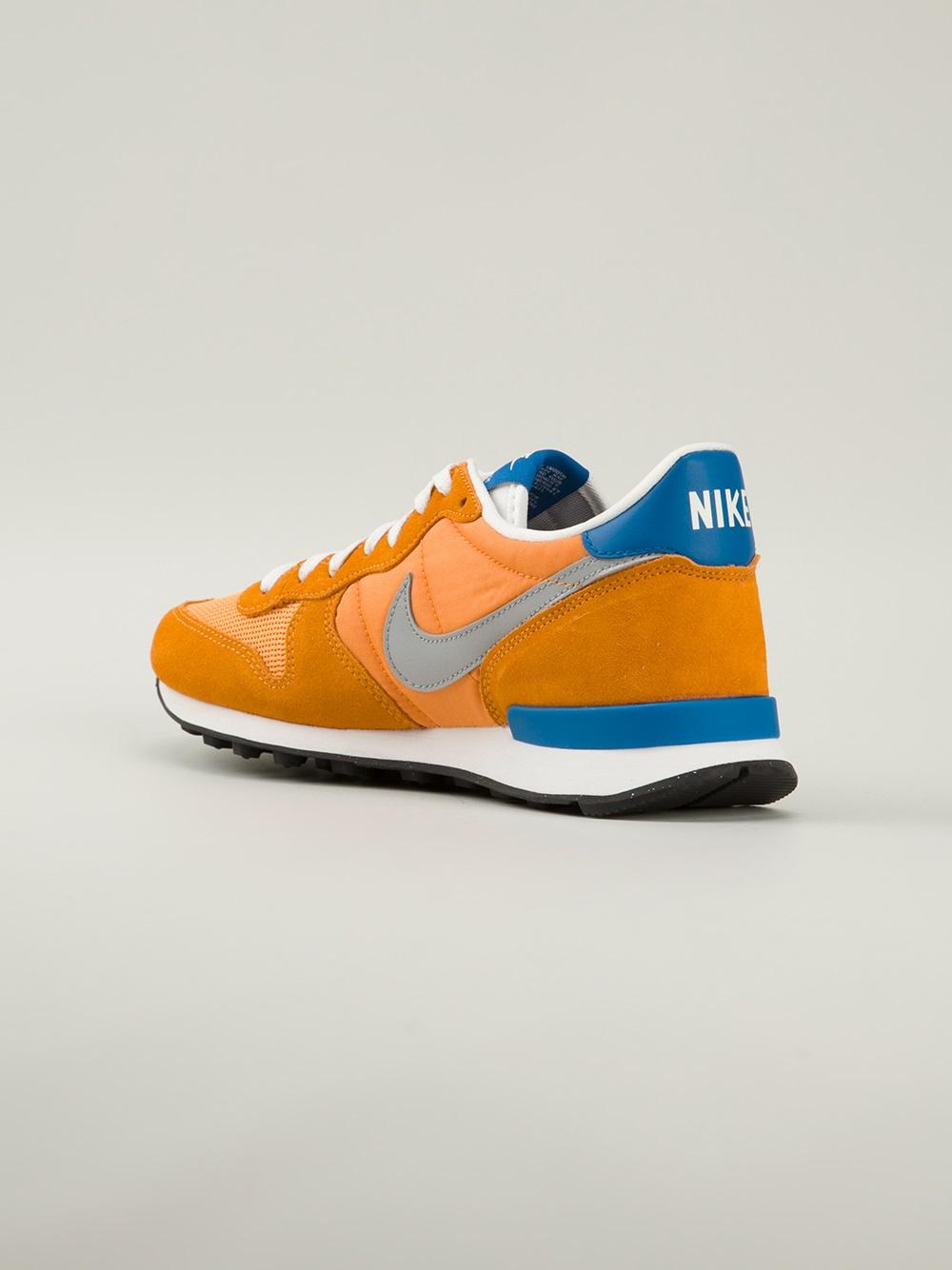 Lyst  Nike Internationalist Sneakers in Orange for Men