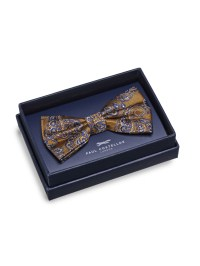 Lyst - Paul Costelloe Gold Paisley Bow Tie in Yellow for Men