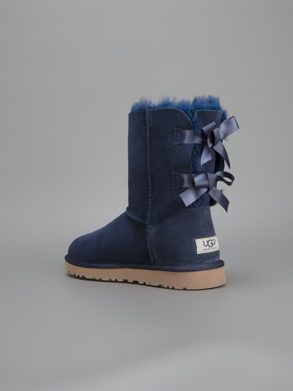 Lyst - Ugg Bailey Bow Boot In Blue