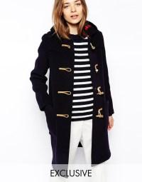 Slim Duffle Coat - Coat Racks