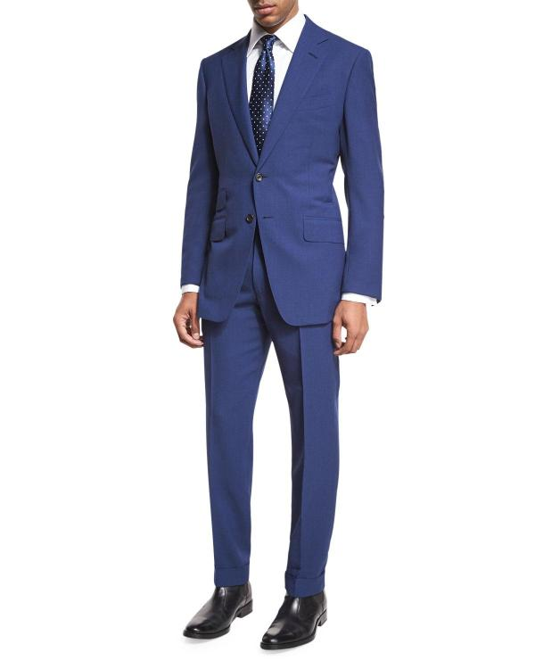 Tom Ford 'connor Base Fresco Two-piece Suit In Blue Men Lyst