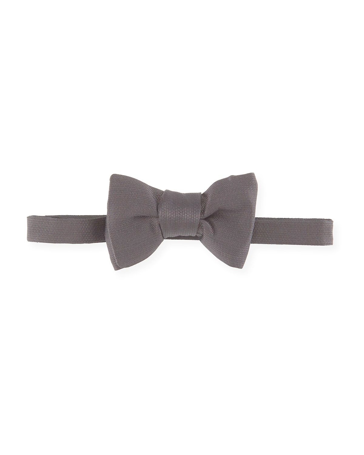 Tom ford Textured Silk Bow Tie in Black for Men