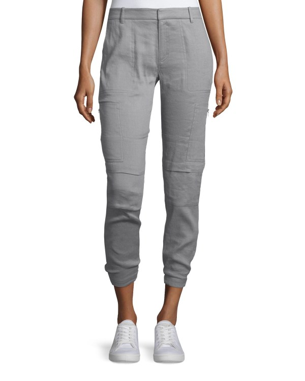 Women's Linen Cargo Pants