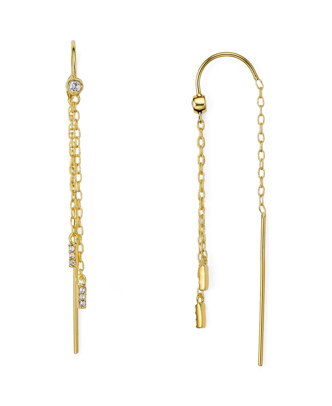 Baublebar Magic Threader Earrings in Gold