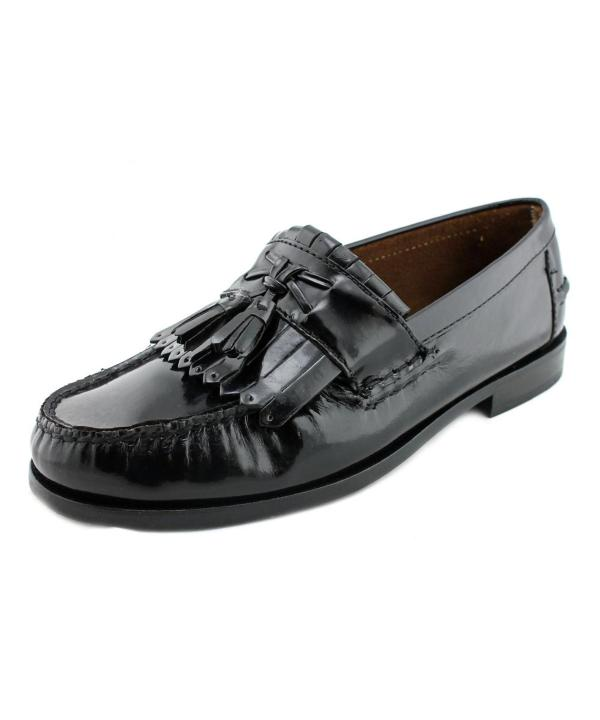 Florsheim Belton 3e Moc Toe Leather Loafer In Black