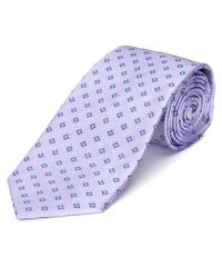 Saint laurent Lavender & Blue Silk Tie in Blue for Men | Lyst