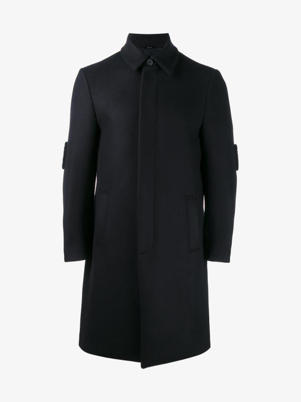 Lyst - Fendi Faces Coat In Blue Men