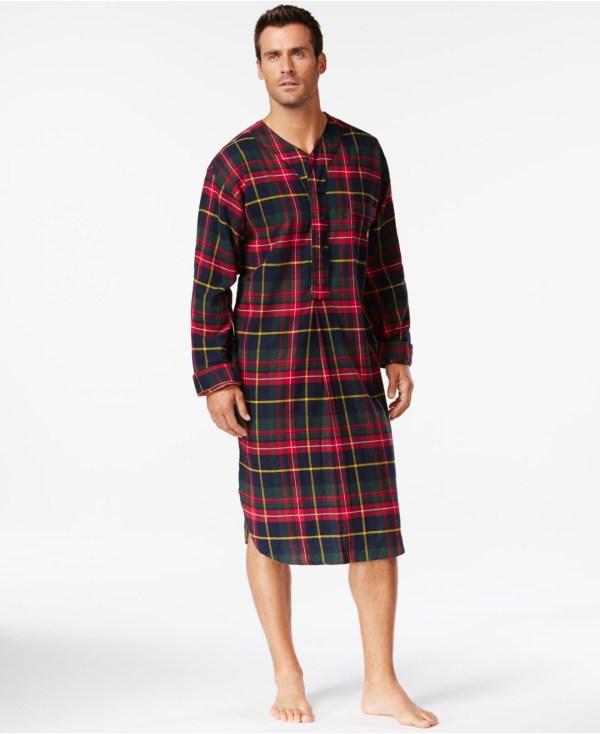 Polo Ralph Lauren Men's Flannel Nightshirt