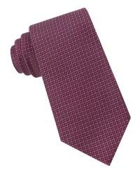 Calvin klein Silk Micro Dot Tie in Pink for Men | Lyst