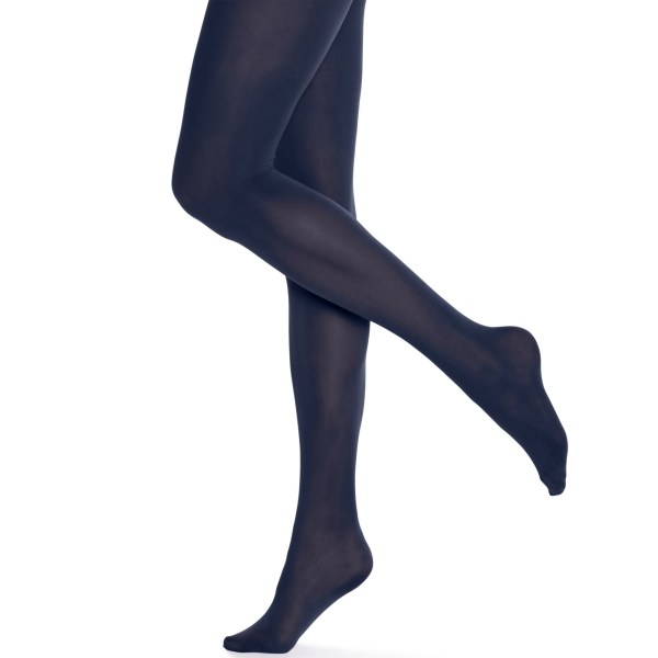 Hue Opaque Tights In Blue Shitake Lyst