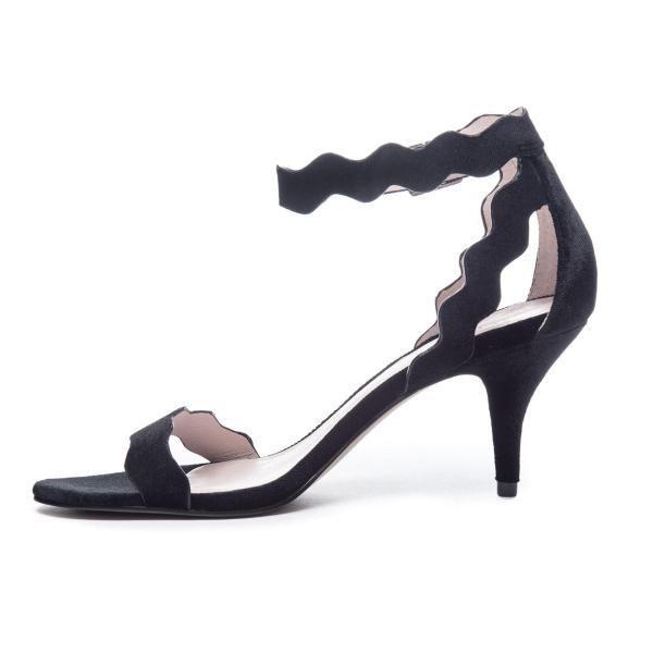 Chinese Laundry Rubie Velvet Sandal In Black - Lyst