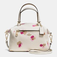 Coach Prairie Satchel In Floral Print Leather | Lyst