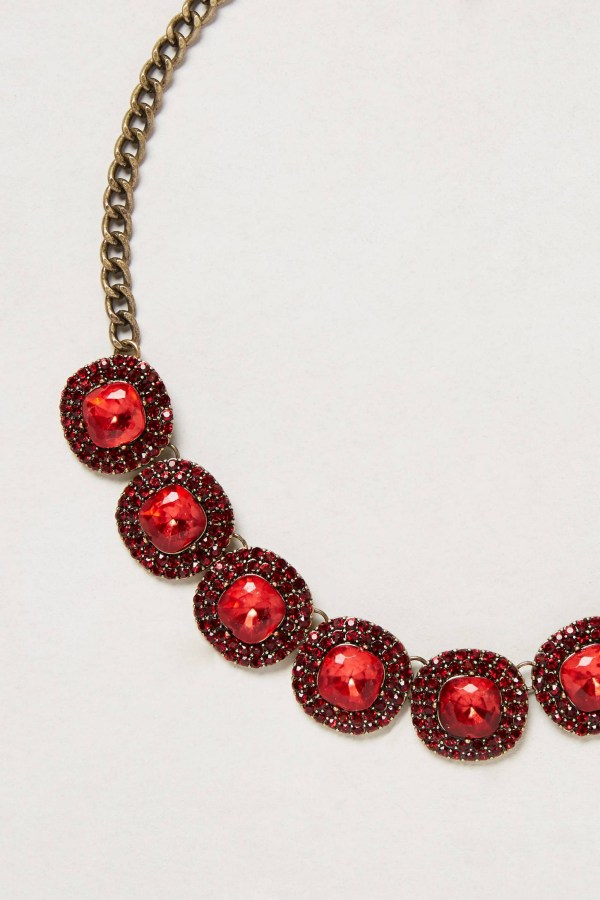 Lyst - Baublebar Caviar Cabochon Necklace In Red
