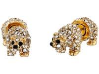 Lyst - Kate Spade New York Polar Bear Stud Earrings in ...
