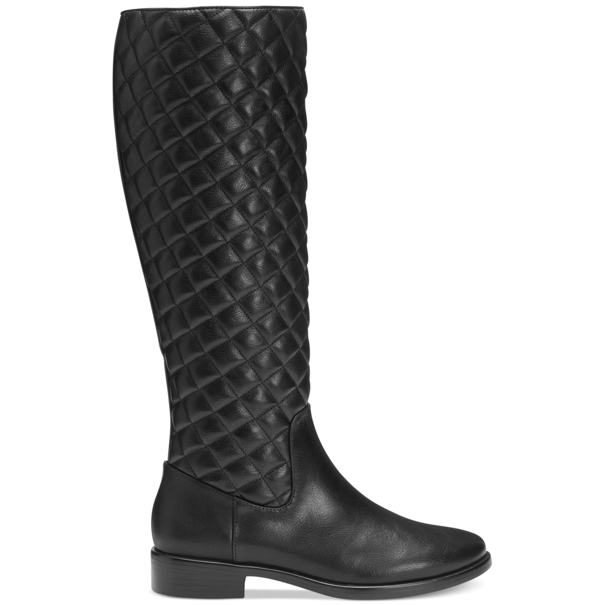 Aerosoles Establish Tall Boots in Black Black Quilted  Lyst