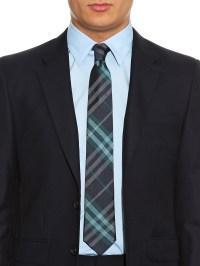 Lyst - Burberry Manston Silk Tie in Blue for Men