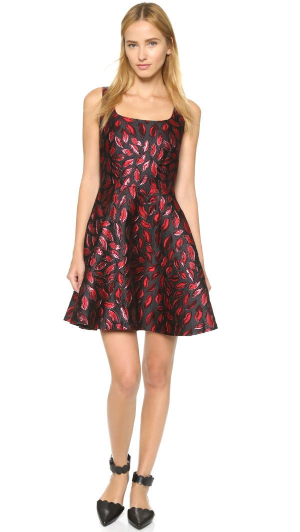 Lyst - Diane Von Furstenberg Minnie Dress Laquer Red