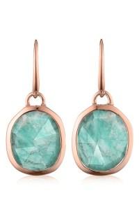 Monica vinader 'siren' Semiprecious Stone Drop Earrings in ...