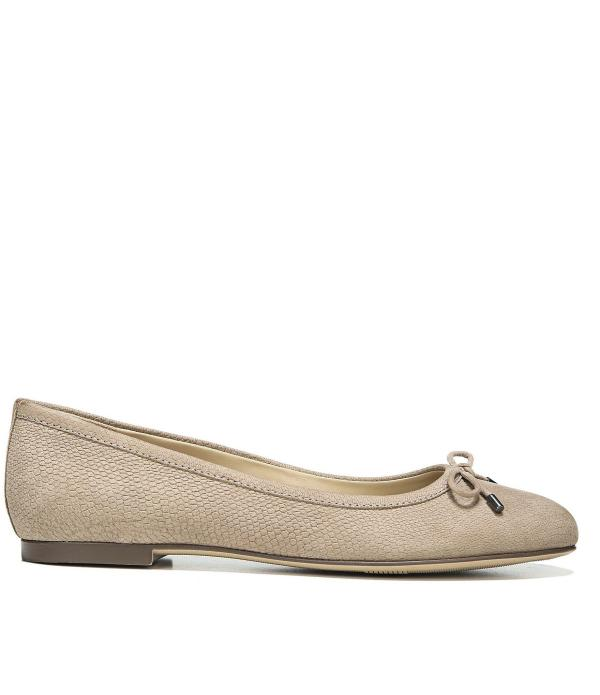 Lyst - Naturalizer Grace Bow Detail Flats In Natural