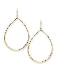 Ippolita Wire Teardrop Hoop Earrings in Metallic | Lyst