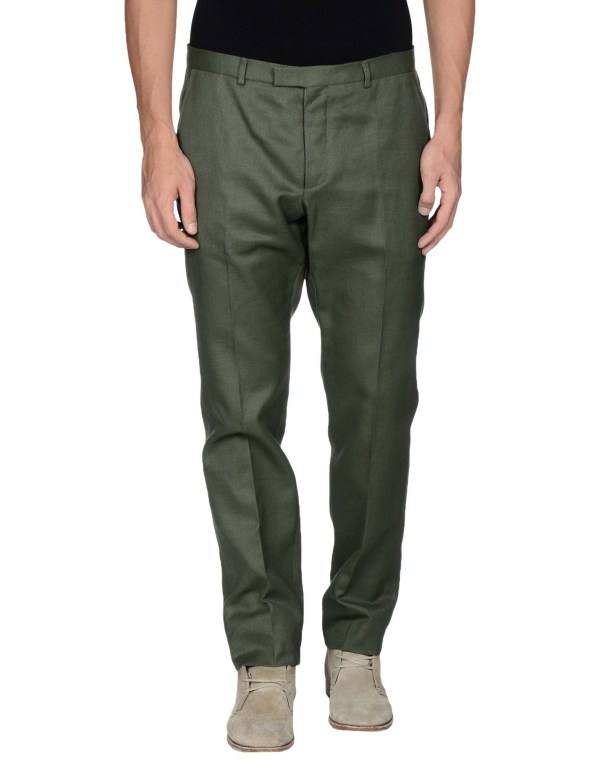 Lyst - Gucci Casual Pants In Green Men