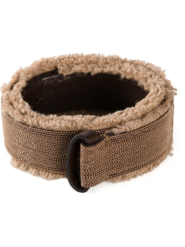 Brunello Cucinelli Jute Belt In Brown Lyst