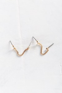 Urban outfitters Little Sparkle Double Post Earring in
