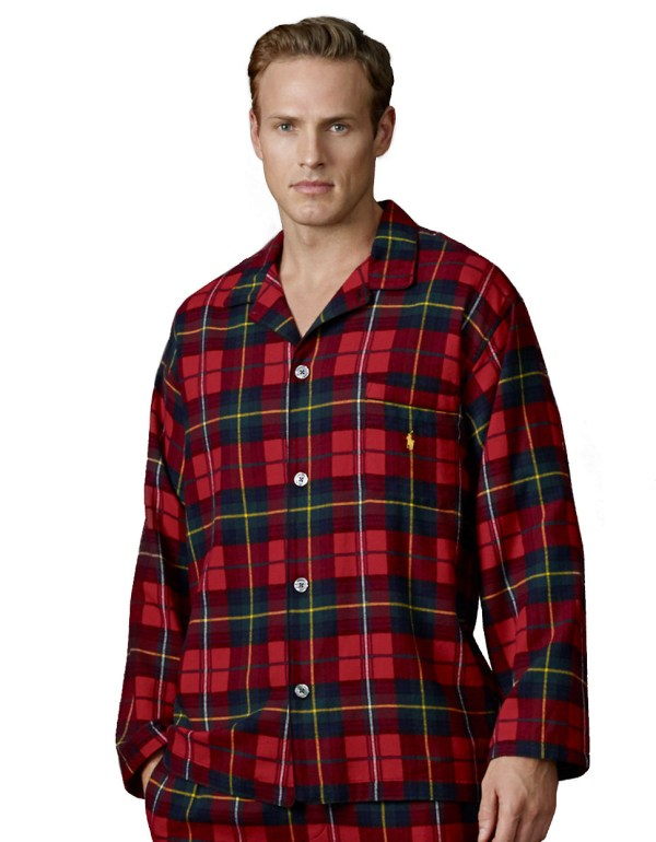 Lyst - Polo Ralph Lauren Longsleeved Plaid Flannel Pajama