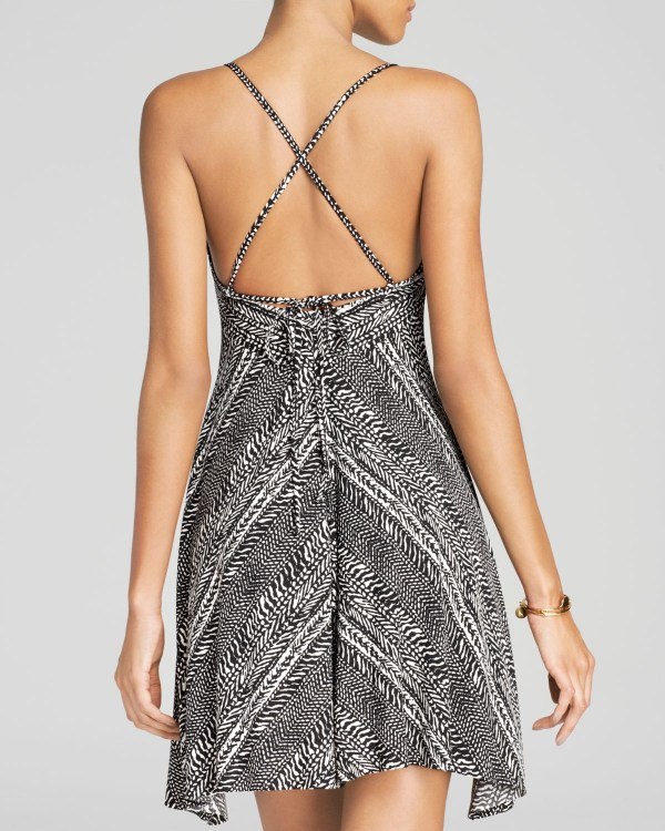 0915444224 ... Swim Cover Up Dress Lyst - Robin Piccone Renee Batik Flowy Cover Dress  In Black ...