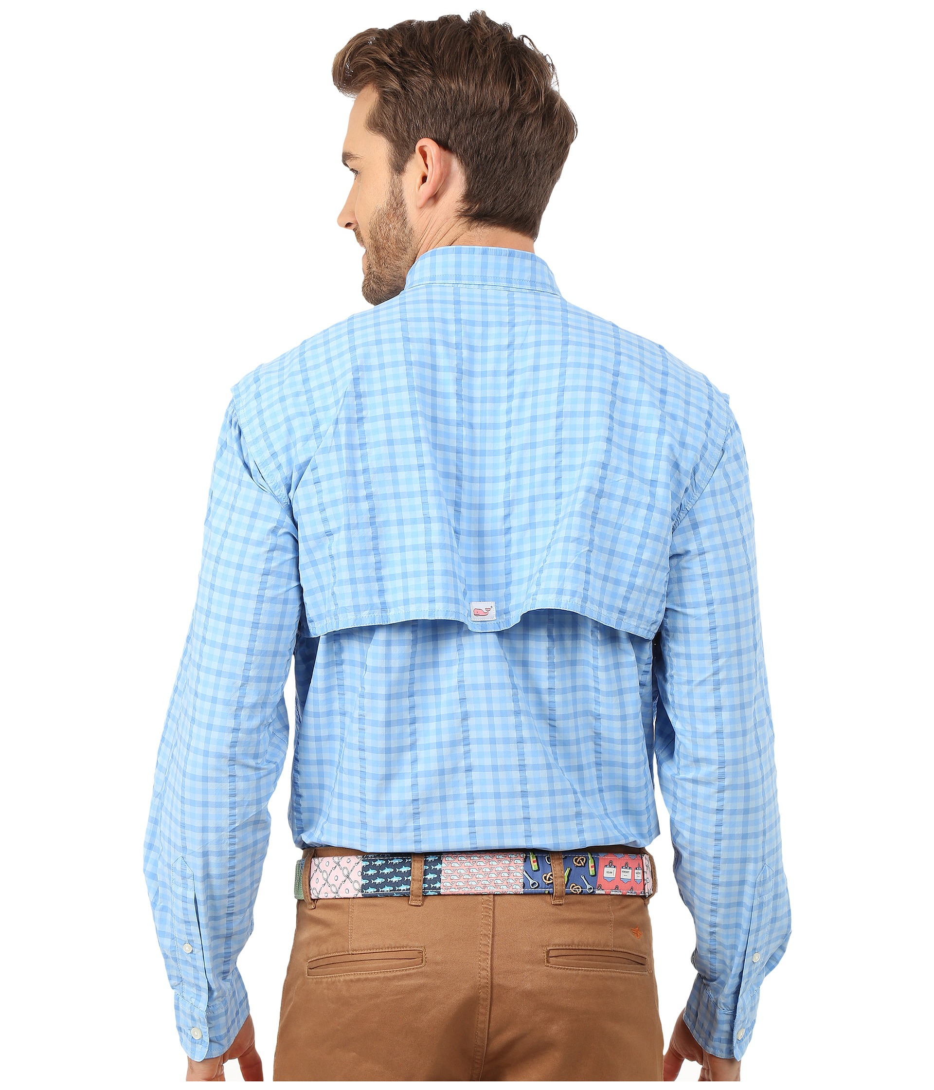 harbor breeze ocean city md brake controller wiring diagram chevy vineyard vines gauley gingham shirt in blue for men