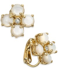 Kate spade new york 14k Gold-plated Mother-of-pearl And ...