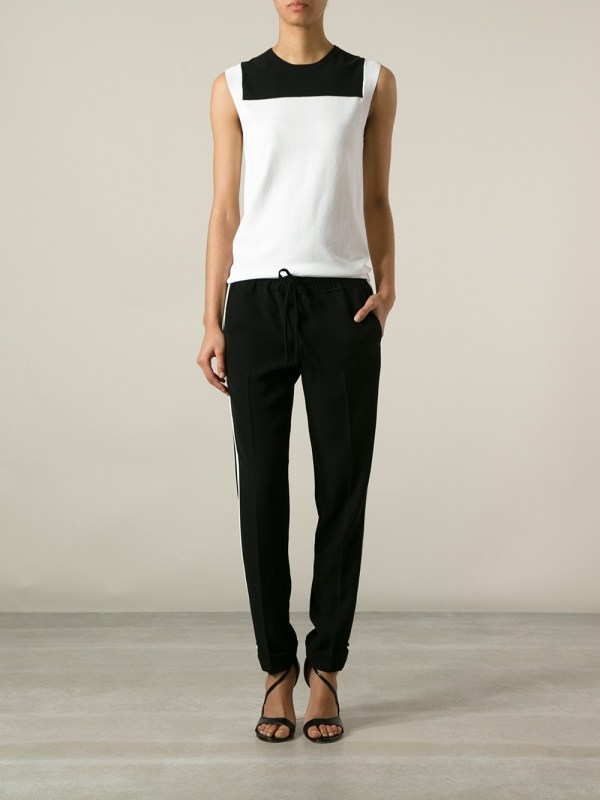 Lyst - .l. Sleeveless Top In White