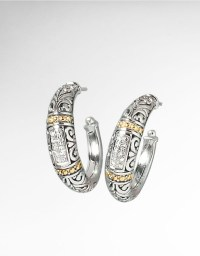 Effy Balissima Sterling Silver, Diamond And 18K Yellow