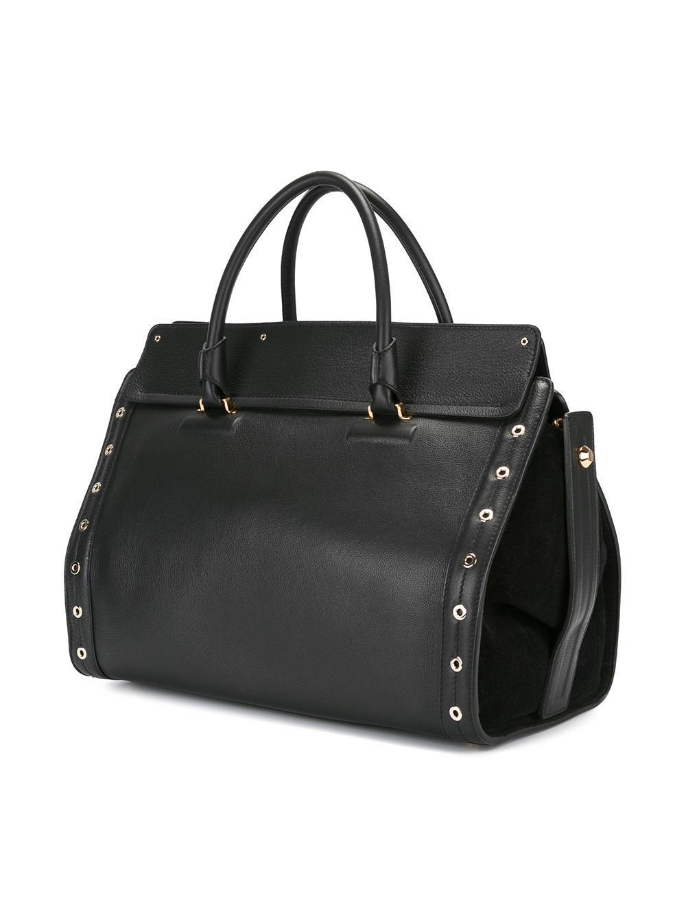 Furla Valentina Tote Bag In Black Lyst