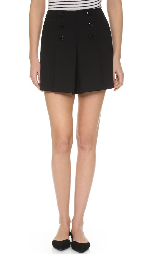Red Valentino Sailor Shorts In Black Lyst