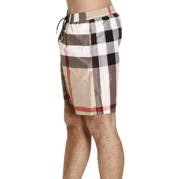 Burberry Swimsuit Swimwear Men In Natural Lyst