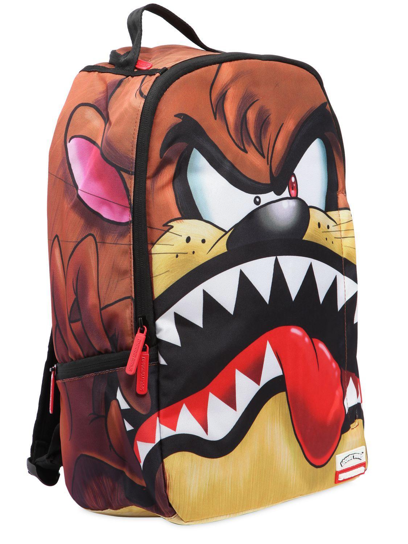 Lyst Sprayground Looney Tunes Taz Shark Backpack