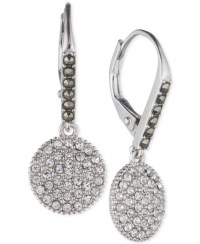 Judith jack Silver-tone Marcasite Accented And Crystal ...