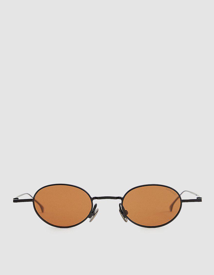 Komono Sinclair Sunglasses in Black - Lyst